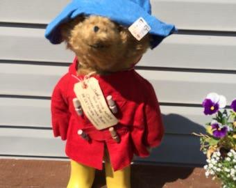 Original Vintage 1970's Paddington Bear never played with
