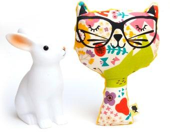 Decorative cat plush WOODLAND