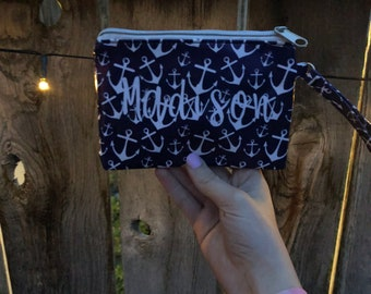 Custom change purse