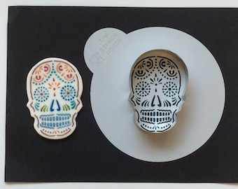 """Day of the Day"""" Stencil & Cutter Cookie Set"""