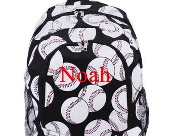 Monogram Backpack Baseball Backpack