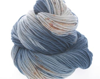 Johnny Sport, Hand Dyed Yarn, Superwash Merino, Nylon, sport weight, hand dyed, sport  SOUL DEEP