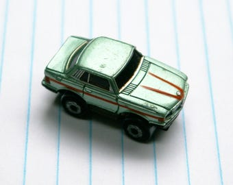 Mint Green Micro Machine Sedan Car Vintage Toy