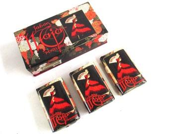 Maja Myrurgia giftbox with 3 Soap bars Collectible Vintage Soap Maja. #6A8G139K17