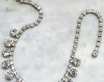 Ice Rhinestone Necklace
