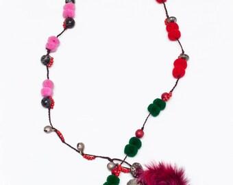 07. Pompom Necklace