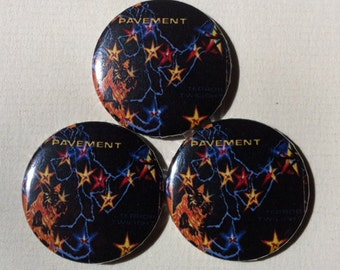 "Pavement ""Terror Twilight"" Pinback Button"