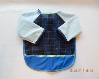 Sleeved Baby Bib #80