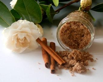 Cinnamon Sugar Scrub, Sugar Scrub, Organic Sugar Scrub, Exfoliating Scrub, All Natural, Homemade, Body Scrub