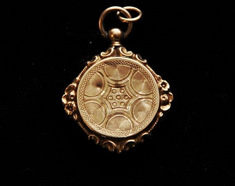 Late 1800s Victorian 14kt gold locket reserved for anthony.