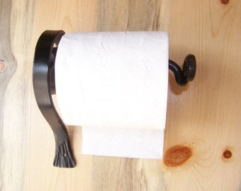 Wrought Iron Scroll Toilet Paper Holder