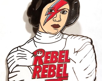 Rebel Rebel Princess Enamel Pin