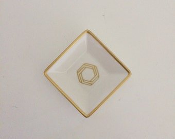 Geometric Jewelry Dish