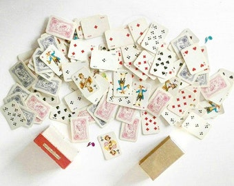 vintage mini double deck playing cards from VIENNA