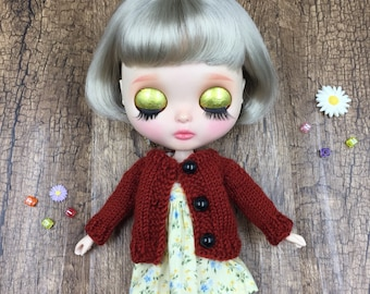 New Sleeveless Dresses with Sweater for Blythe /Azone/Licca or Similar Doll