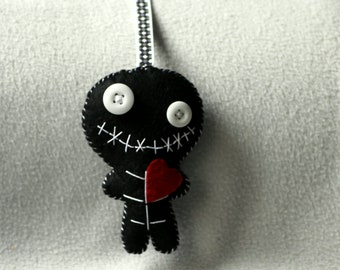 Key ring or bag (reserved) zombie charm
