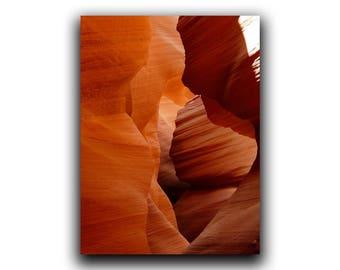 Antelope Canyon Print, Antelope Canyon, Southwestern Decor, Desert Art, Printable Art, Southwest Picture, Modern Nature Art, Canyon Picture