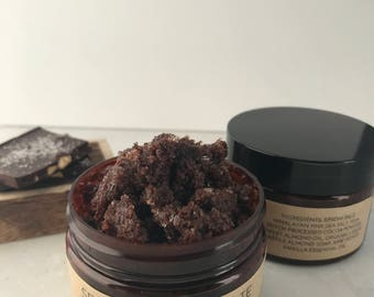 Sea Salt Chocolate Almond Scrub