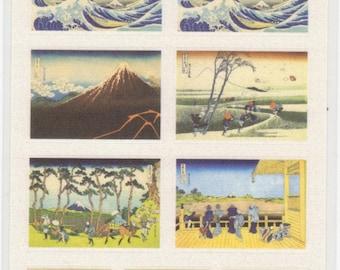 Japanese Ukiyoe Stickers - Paper Stickers - Reference M4297