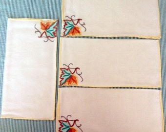 Vintage Table Napkins