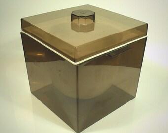 Vintage Mid Century Modern Acrylic Ice Bucket