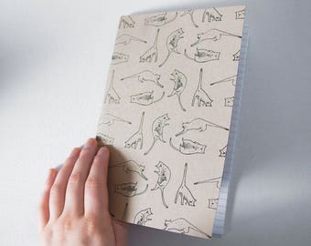 Notebook - Cat Positions / journal, notebook, notebook, notebook, stationery