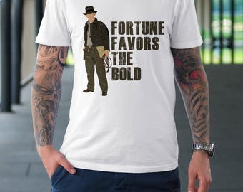 Fortune Favors the Bold - Mens T-Shirt