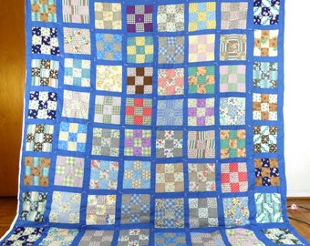 1930s Vintage Hand Sewn quilt