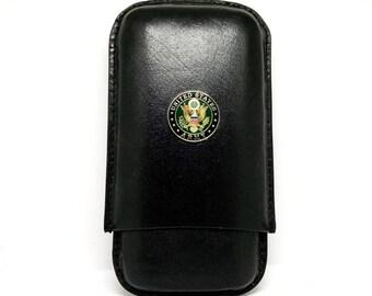Army Cigar Case – 1″ Color