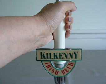 Irish Beer Tap for Nitrogenated Kilkenny Beer - Great Style and Size.