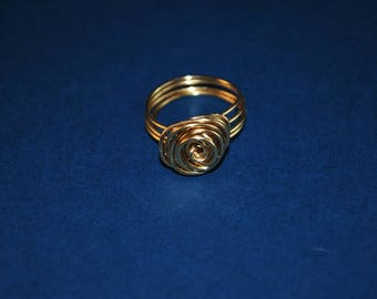 Brass Rose Ring // Gifts For Her // Stocking Stuffer