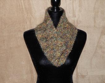 Crochet Autumn Cowl