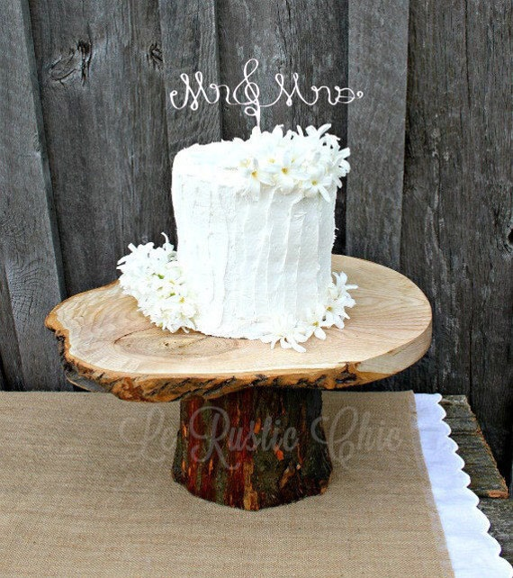 Wedding Cake Topper Wire Hitched