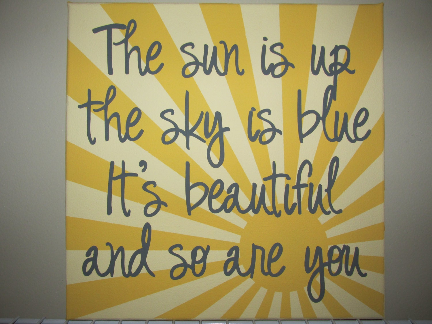 The Beatles Dear Prudence quote The sun is up the sky