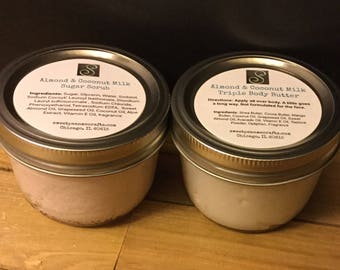 4oz Almond Coconut Milk Triple Body Butter