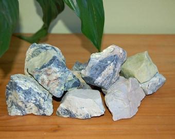 Raw Serpentine Crystal Chunk