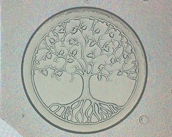 Flexible Resin Mold Sacred Geometry Tree of Life Mould