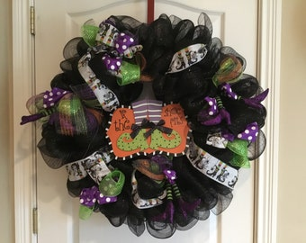 If the shoe fits witch wreath