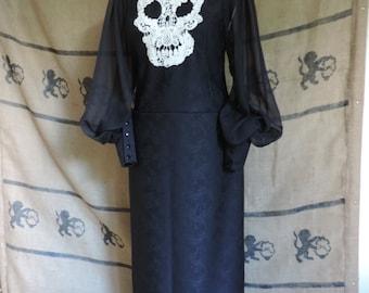 "Gothic black dress ""Zoe Muerte"""