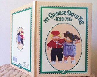 Vintage 1984 My Cabbage Patch Kid And Me Children's Journal Book