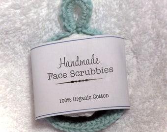 Face scrubbies - 100% organic cotton