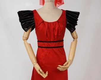 Womanu0027s Halloween Witch Costume in Red and Black - Size 10-12 & Etsy :: Your place to buy and sell all things handmade