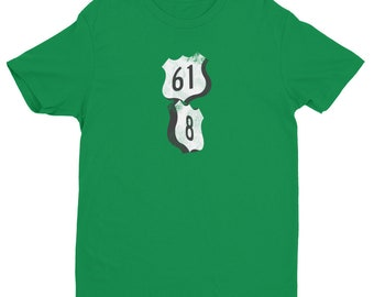Next Level Brand Mississippi Hwy 61 / Hwy 8 Intersection - Short Sleeve T-shirt