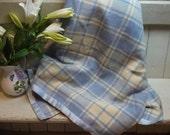 Vintage Welsh Wool Blanke...