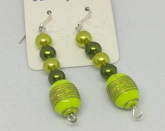 Pretty dangle earrings sweet
