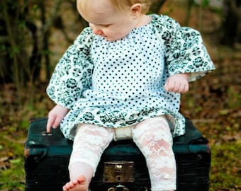 Baby girl lace leggings, girl lace leggings, lace leggings, lace tights, ivory, white, pink, aqua, cream, stretch lace, footless tights