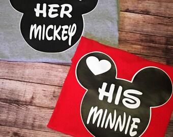 Su Minnie, su tes de Mickey