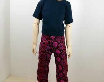SD13 Cotton Snake Skin Boy Pants CLEARANCE Price