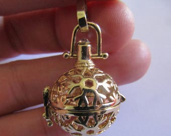pregnancy belly cage gold color