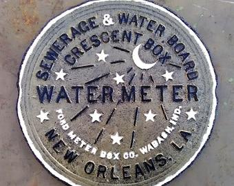 New Orleans Water Meter - Superbowl Saints!